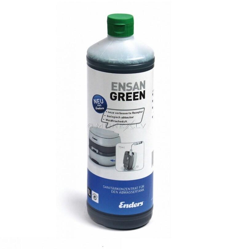 БИОлогическая жидкость для нижнего бака Enders Ensan Green 1L (75мл./10л)